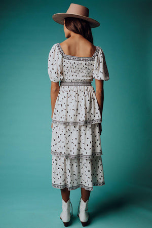 best_seller, Ruby Ann Tiered Maxi Set in White, Dress, women's clothing, dresses, skirts, coats, jackets, shoes, boots, tops, tee shirts, jeans, free people, levi's, rollas, jumpsuits, bottoms, tops, sweaters, pullovers, pants, shorts, sweats,.
