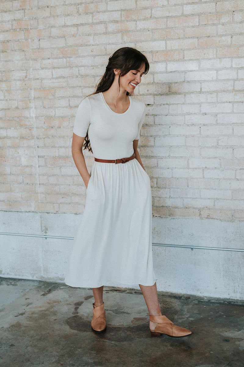 best_seller, Sandra Dee Dress in Ivory, Dress, women's clothing, dresses, skirts, coats, jackets, shoes, boots, tops, tee shirts, jeans, free people, levi's, rollas, jumpsuits, bottoms, tops, sweaters, pullovers, pants, shorts, sweats,.