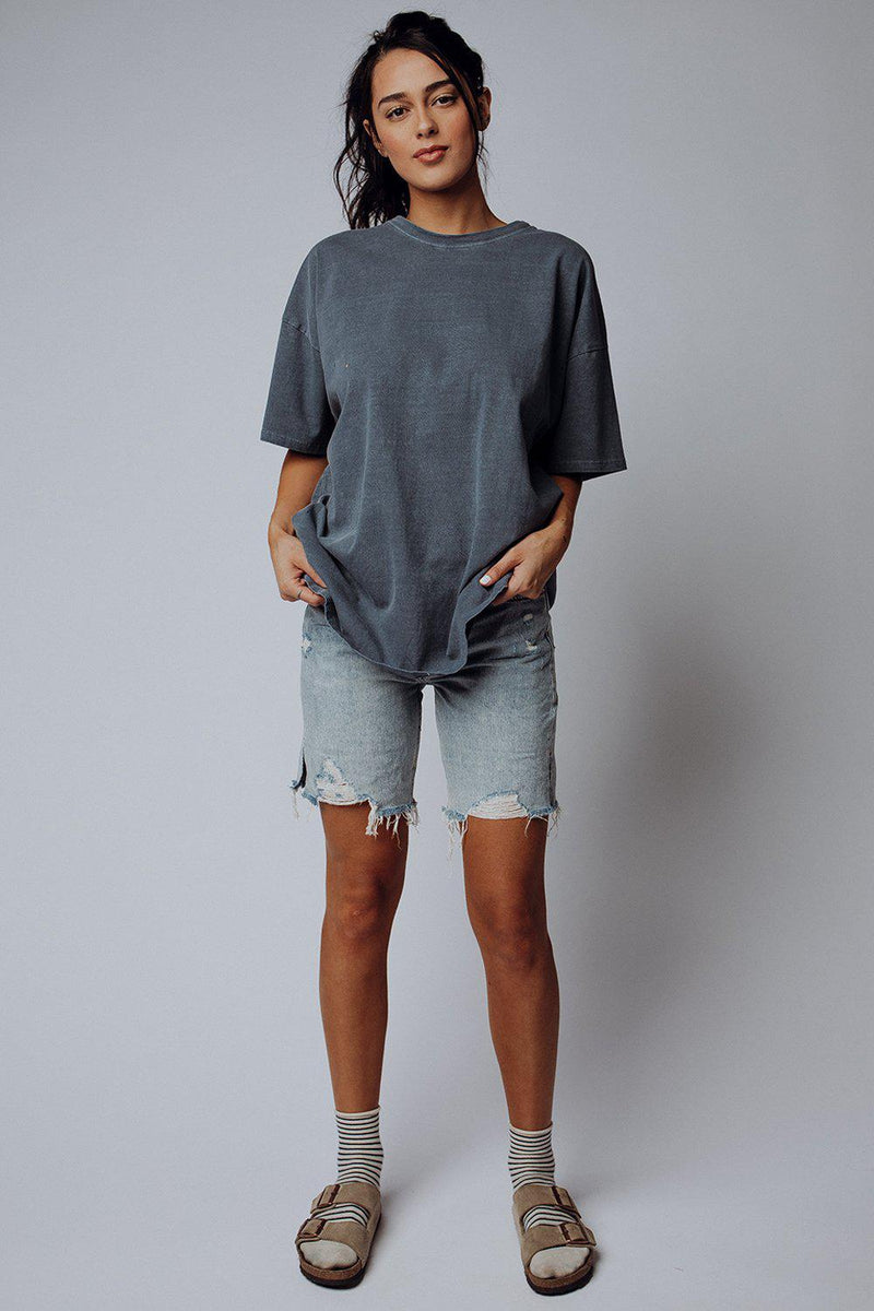 best_seller, Sequoia Shorts in Light Denim by Free People, Bottom, women's clothing, dresses, skirts, coats, jackets, shoes, boots, tops, tee shirts, jeans, free people, levi's, rollas, jumpsuits, bottoms, tops, sweaters, pullovers, pants, shorts, sweats,.