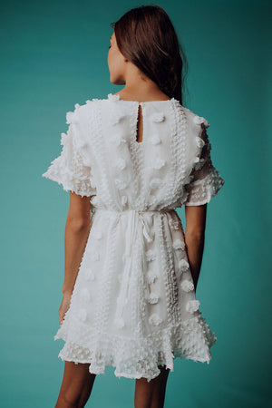 best_seller, Somebody to Love Dress in White - FINAL SALE, Dress, women's clothing, dresses, skirts, coats, jackets, shoes, boots, tops, tee shirts, jeans, free people, levi's, rollas, jumpsuits, bottoms, tops, sweaters, pullovers, pants, shorts, sweats,.