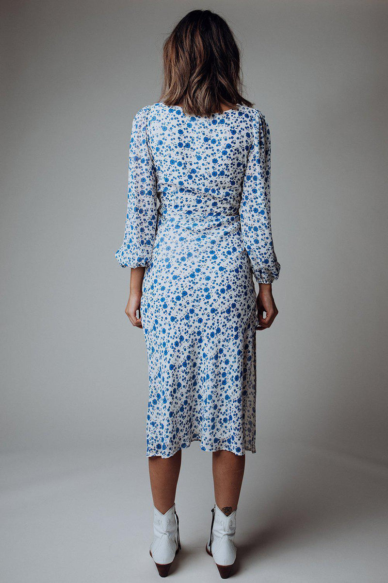 best_seller, Something Blue Floral Dress - FINAL SALE, Dress, women's clothing, dresses, skirts, coats, jackets, shoes, boots, tops, tee shirts, jeans, free people, levi's, rollas, jumpsuits, bottoms, tops, sweaters, pullovers, pants, shorts, sweats,.