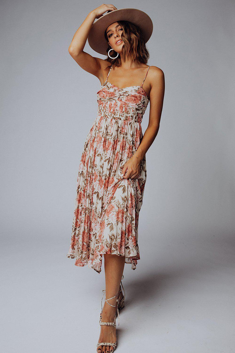 best_seller, Spell On You Floral Midi Dress, Dress, women's clothing, dresses, skirts, coats, jackets, shoes, boots, tops, tee shirts, jeans, free people, levi's, rollas, jumpsuits, bottoms, tops, sweaters, pullovers, pants, shorts, sweats,.
