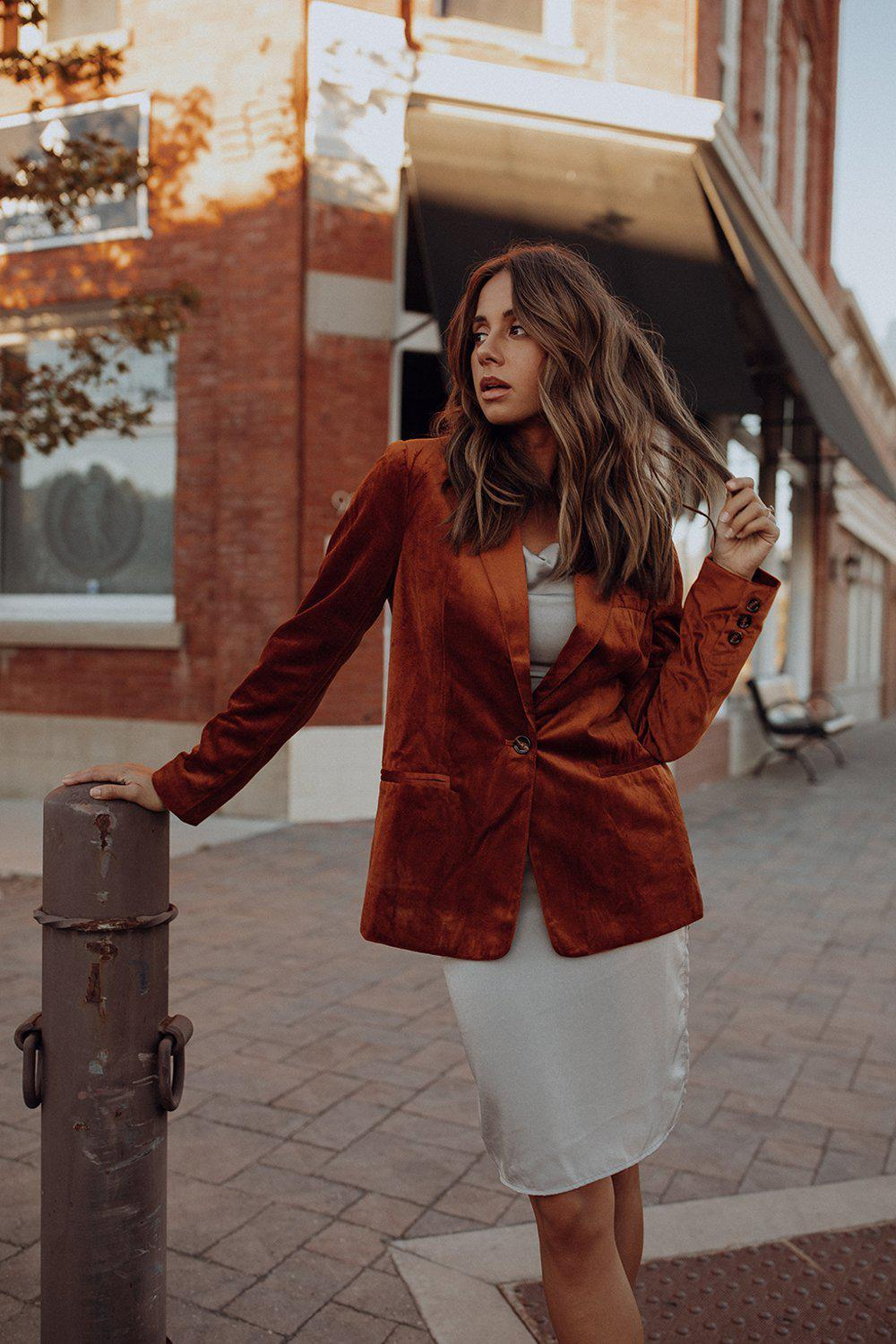 best_seller, Spice Spice Baby Blazer - FINAL SALE, Top, women's clothing, dresses, skirts, coats, jackets, shoes, boots, tops, tee shirts, jeans, free people, levi's, rollas, jumpsuits, bottoms, tops, sweaters, pullovers, pants, shorts, sweats,.