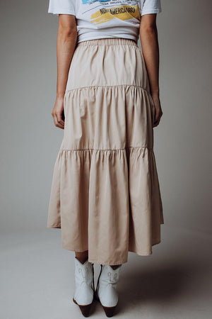 best_seller, Story of My Life Tiered Skirt - FINAL SALE, Skirt, women's clothing, dresses, skirts, coats, jackets, shoes, boots, tops, tee shirts, jeans, free people, levi's, rollas, jumpsuits, bottoms, tops, sweaters, pullovers, pants, shorts, sweats,.