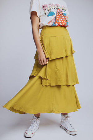 best_seller, Street Of Dreams Skirt in Pistachio, , women's clothing, dresses, skirts, coats, jackets, shoes, boots, tops, tee shirts, jeans, free people, levi's, rollas, jumpsuits, bottoms, tops, sweaters, pullovers, pants, shorts, sweats,.