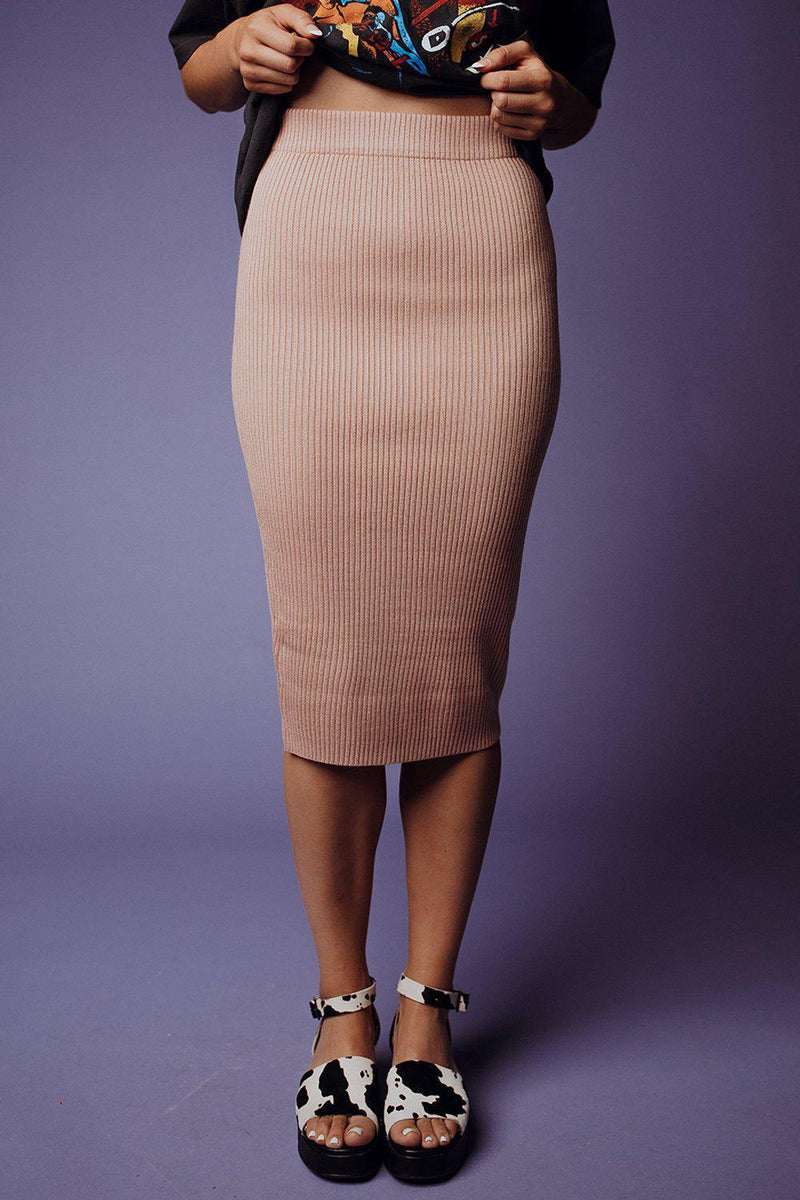 Clad and Cloth, Strictly Business Midi Skirt, Clad & Cloth, Skirt.