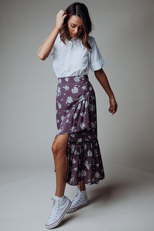 Clad and Cloth, Sway With Me Midi Skirt, Clad & Cloth, Skirt.