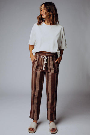 best_seller, Talk is Cheap Striped Pants - FINAL SALE, Bottom, women's clothing, dresses, skirts, coats, jackets, shoes, boots, tops, tee shirts, jeans, free people, levi's, rollas, jumpsuits, bottoms, tops, sweaters, pullovers, pants, shorts, sweats,.