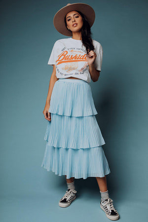 best_seller, Thailia Skies Skirt - FINAL SALE, Skirt, women's clothing, dresses, skirts, coats, jackets, shoes, boots, tops, tee shirts, jeans, free people, levi's, rollas, jumpsuits, bottoms, tops, sweaters, pullovers, pants, shorts, sweats,.