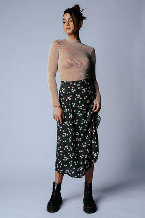 best_seller, That's My Girl Floral Midi Skirt in Ivory Combo, Skirt, women's clothing, dresses, skirts, coats, jackets, shoes, boots, tops, tee shirts, jeans, free people, levi's, rollas, jumpsuits, bottoms, tops, sweaters, pullovers, pants, shorts, sweats,.