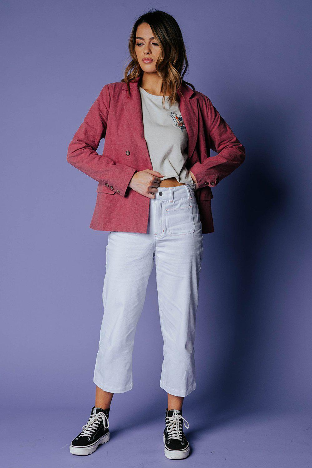 The Elle Woods Blazer-Top-MOVINT-XS-Clad & Cloth