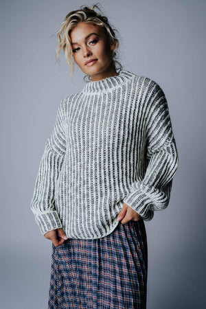 Clad and Cloth, The Otto Oversized Sweater, Clad & Cloth, Top.