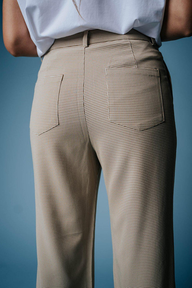 The Wiley Plaid Pants, cladandcloth.