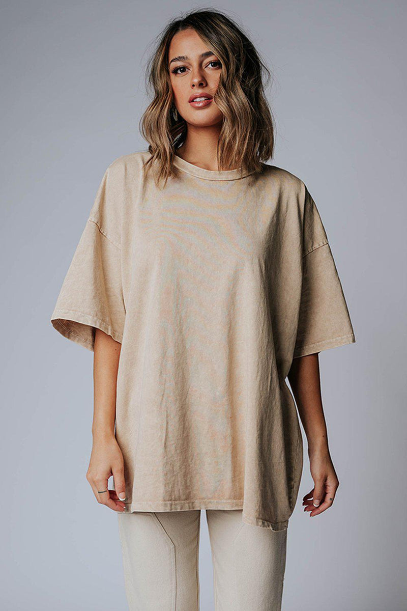 best_seller, WFH Oversized Tee in Tan, Top, women's clothing, dresses, skirts, coats, jackets, shoes, boots, tops, tee shirts, jeans, free people, levi's, rollas, jumpsuits, bottoms, tops, sweaters, pullovers, pants, shorts, sweats,.