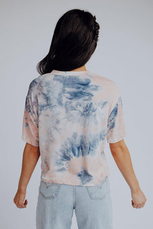best_seller, Zoey Tie Dye Tee, , women's clothing, dresses, skirts, coats, jackets, shoes, boots, tops, tee shirts, jeans, free people, levi's, rollas, jumpsuits, bottoms, tops, sweaters, pullovers, pants, shorts, sweats,.