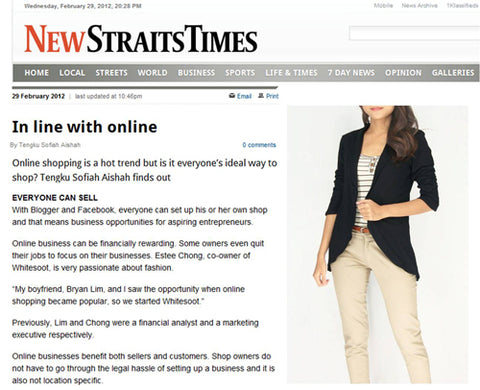 Whitesoot - New Straits Time