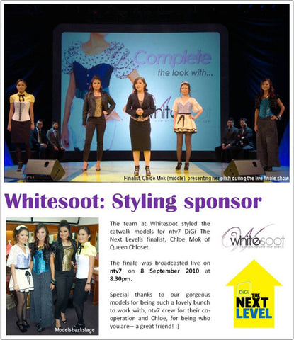 Whitesoot - Digi The Next Level finale on NTV7