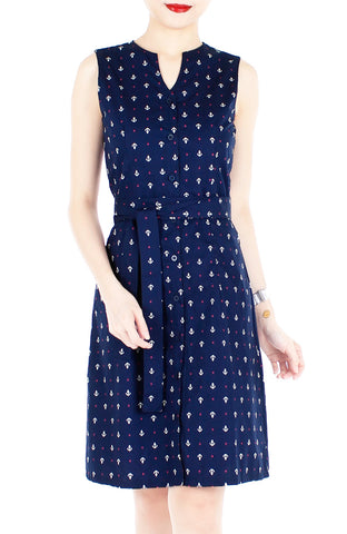 products/Ahoy-Gorgeous-Nautical-A-Line-Button-Down-Dress-in-Knee-Length-Deep-Blue-1.jpg