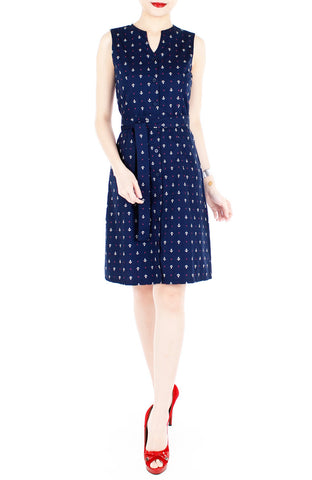 products/Ahoy-Gorgeous-Nautical-A-Line-Button-Down-Dress-in-Knee-Length-Deep-Blue-2.jpg