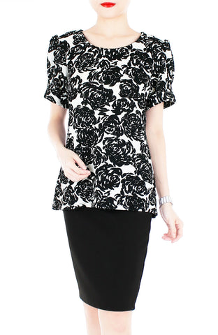 products/Black-Monochrome-Rose-Blouse-with-Sleeves-2.jpg