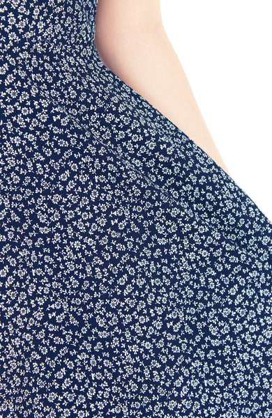 Blissful Baby Blooms Flare Tea Dress