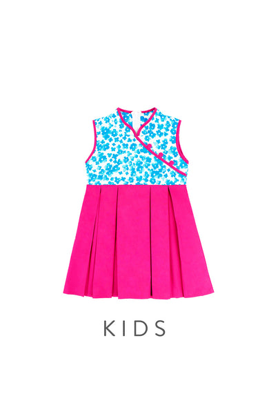 KIDS Brilliance of Shidaiqu Cheongsam Dress