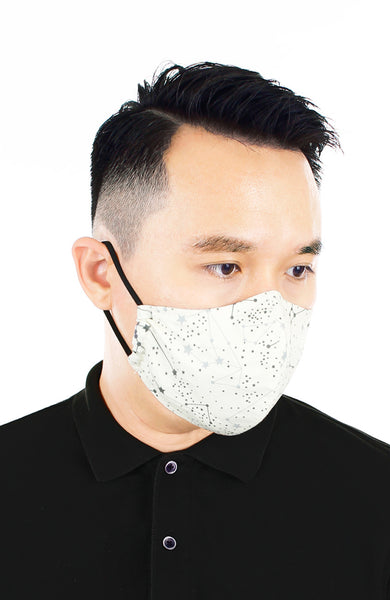 CHIVALRY Moonlight Galaxy Pure Cotton Face Mask - Milky Way