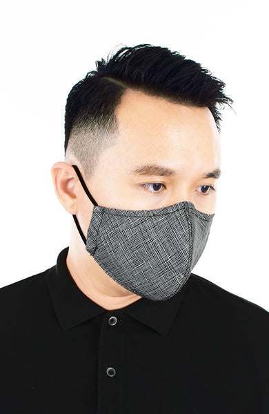 CHIVALRY Sleek Pure Cotton Face Mask