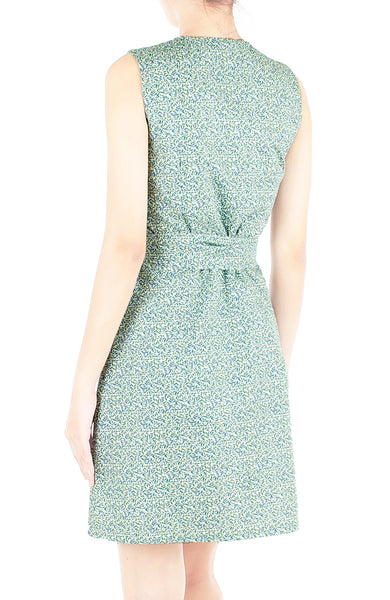 Chamomile Lawn A-Line Button Down Dress