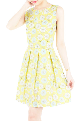 products/Charming_Cherry_Blossoms_Flare_Dress_-_Yellow-1.jpg