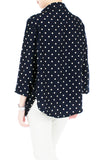 City Pursuit Blouse - Polka Dot