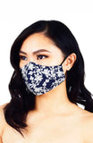 Debonair Duchess Pure Cotton Face Mask - Royal Blue