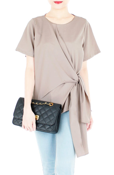 Decorator in Demand Blouse - Taupe