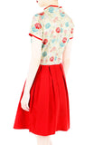 Eternal Peony Blooms Cheongsam Dress