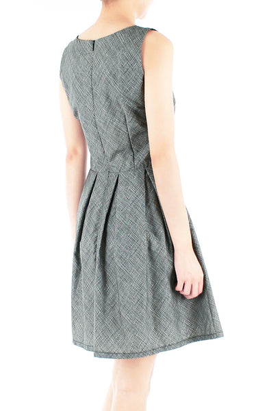 Expertly Eloquent Flare Dress