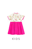 KIDS Famille Rose Porcelain Cheongsam Dress