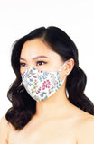 Ferns Illustrated Pure Cotton Face Mask