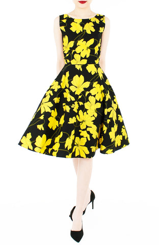 products/Fleur_Freesia_Flare_Midi_Dress_-_Yellow-1.jpg