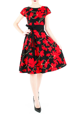 products/Fleur_Freesia_Flare_Tea_Dress_Scarlet-1.jpg