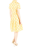 Fountain of Youth Emma Two-Way Shirtdress - Canary Yellow