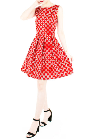 products/Four_Leaf_Clover_Charm_Flare_Dress_-_Red-2.jpg