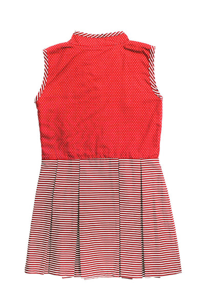 Hatsumi Dots & Stripes Cheongsam Dress