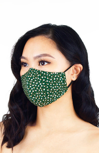 Garden-fresh Little Blooms Pure Cotton Face Mask