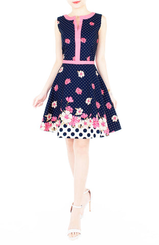 products/Garden_Crossing_Flare_Dress_with_Pink_Trims_Night_Blue-2.jpg