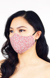 Hanami Sakura Pure Cotton Face Mask - Spring Pink
