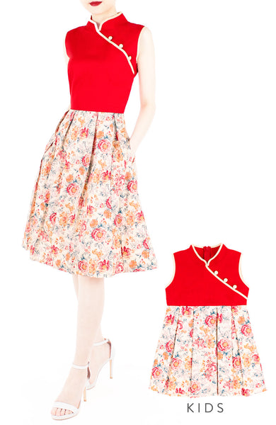 Heritage Courtyard Cheongsam Dress