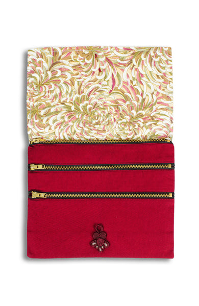 Imperial Chrysanthemum ANGPAO Organizer Clutch