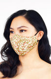 Imperial Chrysanthemum Pure Cotton Face Mask