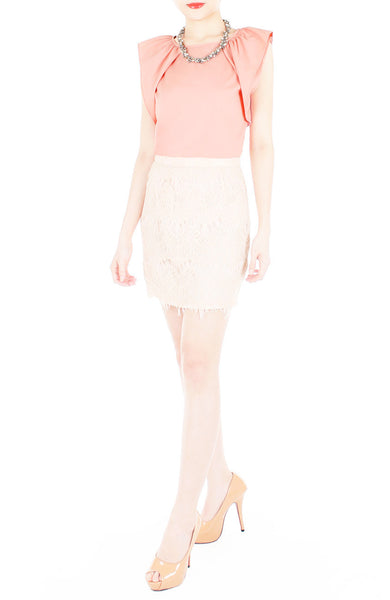 Infinite Options Sleeveless Blouse - Rose Pink