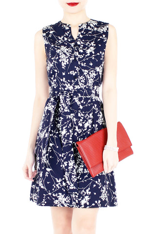 products/Japanese_Plum_Blossoms_A-Line_Button_Down_Dress_Midnight_Blue_-1.jpg